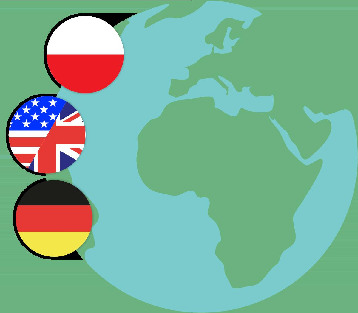 języki tłumaczeń – tłumaczenia na polski